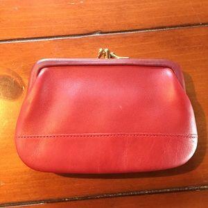 Coach Bags - VINTAGE COACH change purse, leather